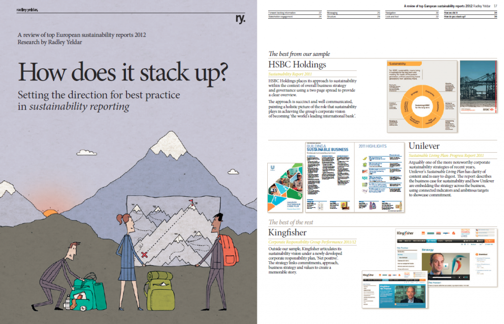 How Does it Stack Up 2013 front cover and materiality page
