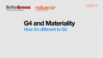 G4 changes – A Video!